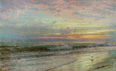 William Trost Richards Coastal Landscape 1901