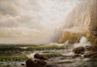 William Trost Richards Cornish Coast