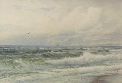 William Trost Richards Incoming Tide 1891