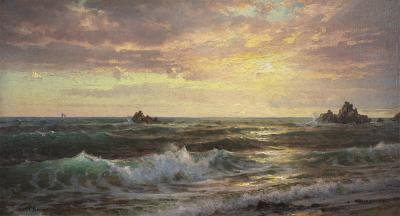 William Trost Richards Near Newport