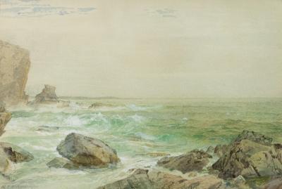 William Trost Richards Near Newport Rhode Island
