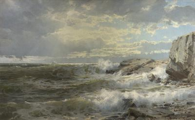 William Trost Richards Off Conanicut