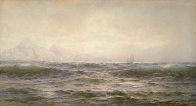 William Trost Richards Off the Island of Arran