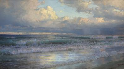 William Trost Richards On the New Jersey Shore