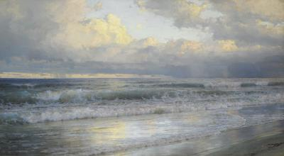 William Trost Richards On the New Jersey Shore 1897