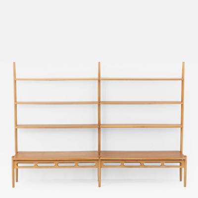 William Watting Scandinavian Midcentury Shelving Unit in Oak by William Watting