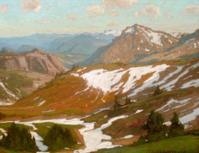 William Wendt Mountain Infinity Summer Thaw
