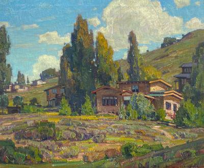 William Wendt The House that Jack Built