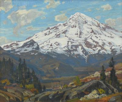 William Wendt The Mountain Majestic 1924