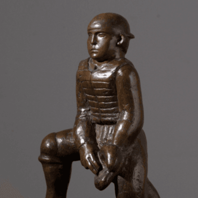 William Zorach Baseball Catcher c 1930