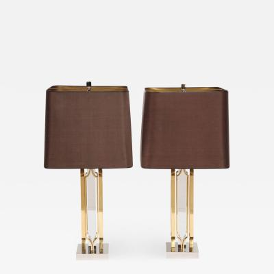 Willy Daro Pair of table lamps by Willy Daro