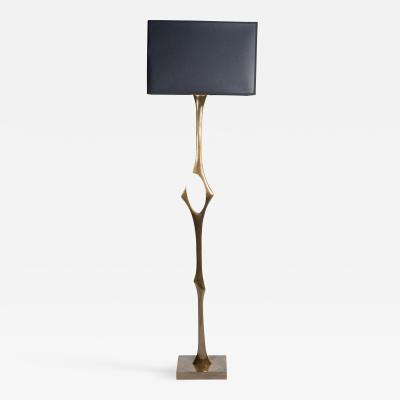 Willy Daro Solid bronze Floor lamp by Willy Daro