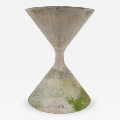 Willy Guhl Hourglass Concrete Planter Willy Guhl