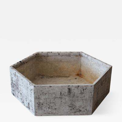Willy Guhl Large Willy Guhl Hexagon Planter