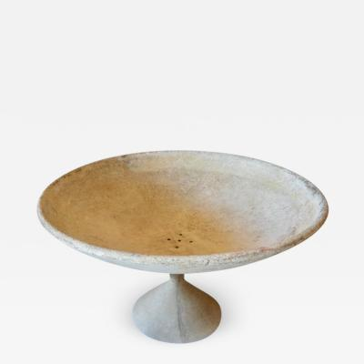 Willy Guhl Monumental Willy Guhl Bowl Planter on Pedestal