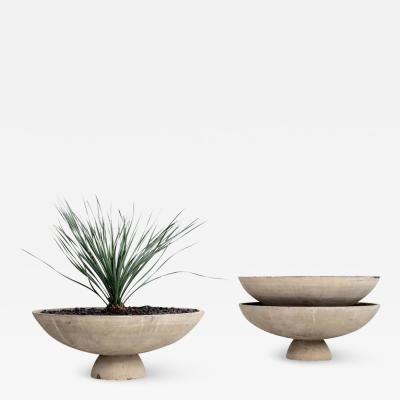 Willy Guhl WILLY GUHL CONCRETE PLANTER WITH STAND