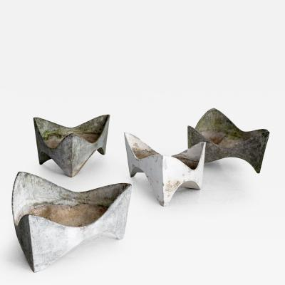 Willy Guhl WILLY GUHL TOOTH PLANTERS