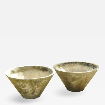 Willy Guhl Willy Guhl Cone Form Planters Switzerland 1960s