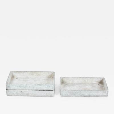 Willy Guhl Willy Guhl Style Concrete Trays