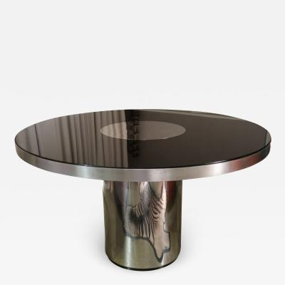 Willy Rizzo A dining table by Willy Rizzo for Mario Sabot Italy 70