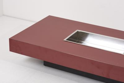 Willy Rizzo Coffee Table by Willy Rizzo France 1970s