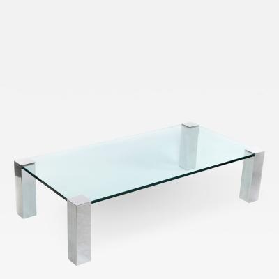 Willy Rizzo Coffee table by Willy Rizzo for Cidue Italy