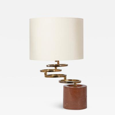 Willy Rizzo Swivelling ring lamp