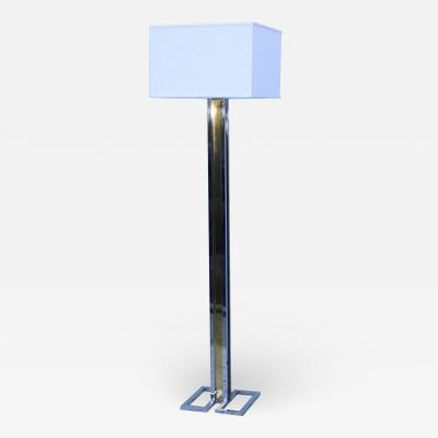 Willy Rizzo Willy Rizzo Brass And Chrome Floor Lamp