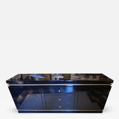 Willy Rizzo Willy Rizzo Lacquered Buffet Italy 1960