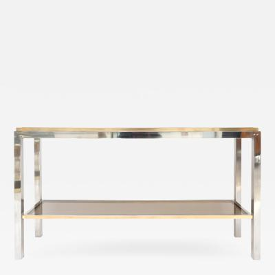 Willy Rizzo Willy Rizzo Signed Console Table