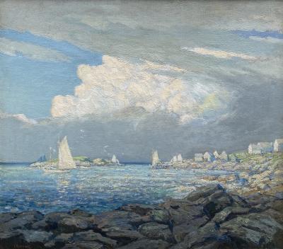 Wilson Henry Irvine Monhegan Harbor