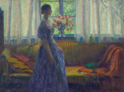 Wilson Henry Irvine Woman in an Interior
