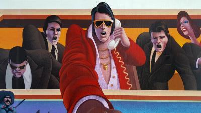 Wilson McLean Movie Poster Illustration for American Pop