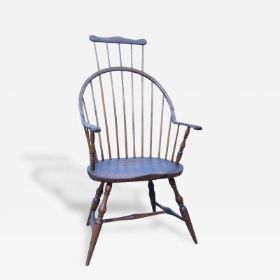 Windsor Comb Back Bow Back Armchair
