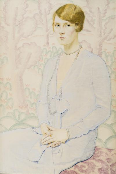 Winold Reiss Portrait of Carol Moon Gardner 1909 1964