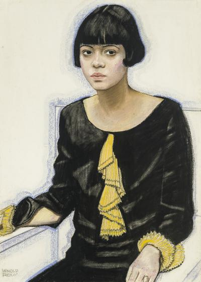 Winold Reiss Portrait of Sari Patton