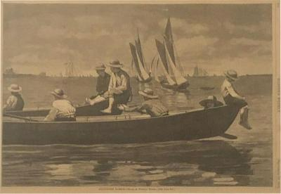 Winslow Homer Newspaper Illustration Harpers Weekly