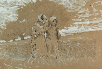 Winslow Homer Through the Fields