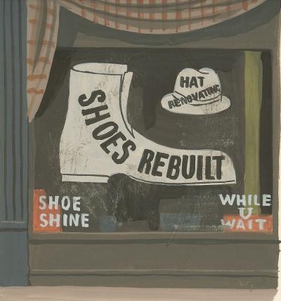 Witold Gordon Witold Gordon Gouache Shoes Rebuilt