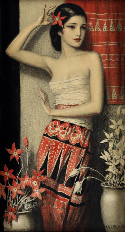 Wladyslaw Theodor Benda Exotic Female