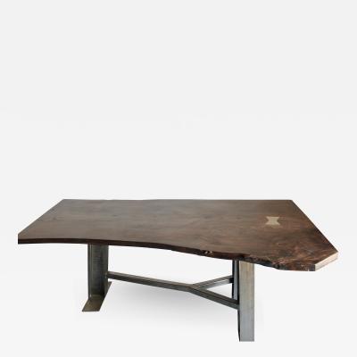 Wonderful Custom Live Edge Table