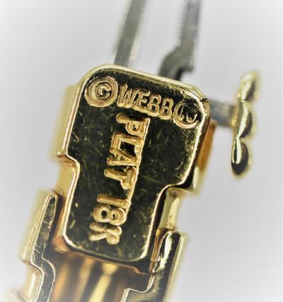 Wonderful David Webb Emerald and Necklace