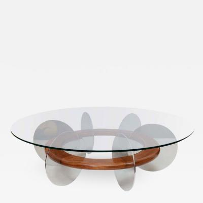 Wood And Metal Coffee Table Design by AUB RY