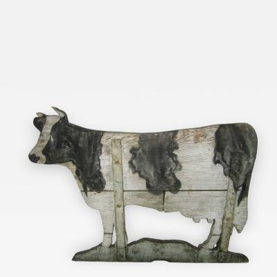Wood Cow Weathervane