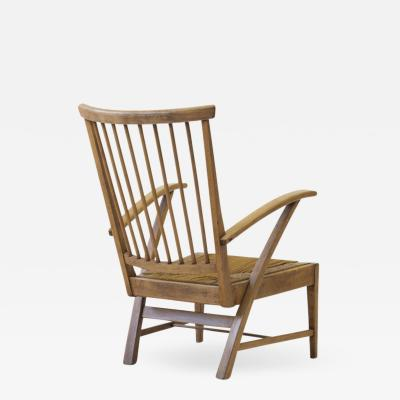 Wooden Armchair The Netherlands ca 1950s 1960s