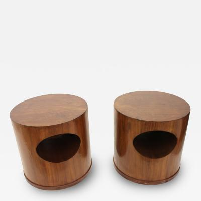 Wooden Mid Century End Tables