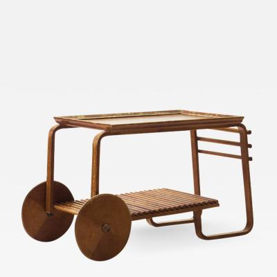 Wooden Tea Trolley Finland 1940s