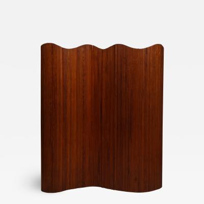 Wooden tambour screen by Baumann Paris c 1930