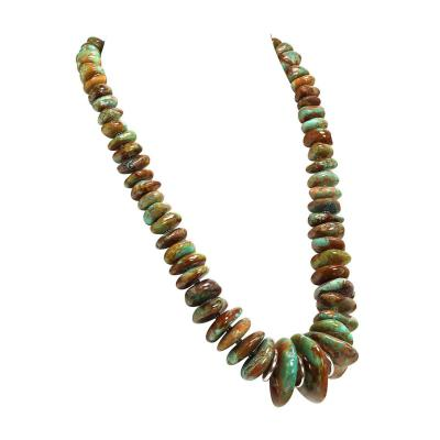 World Famous Kingman Turquoise Necklace from Gemjunky