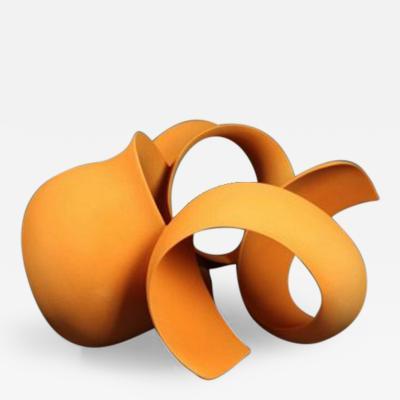 Wouter Dam Orange Sculpture by Wouter Dam